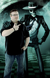 Derek Landy talks about Skulduggery Pleasant